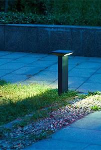 Bornes ext rieur led pour clairer votre jardin - Borne lumineuse jardin ...