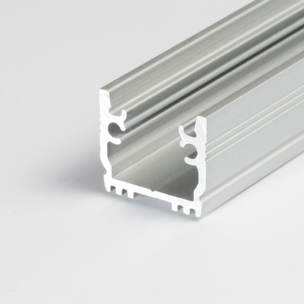 profil aluminium 2m pour ruban bandeau led profil alu led. Black Bedroom Furniture Sets. Home Design Ideas