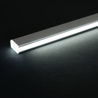 Kit profil alu led 2m aluminium étagere 8mm