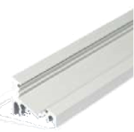 Profile alu led 1m seul 10mm Oblique 45°