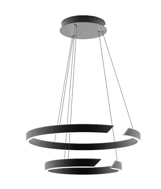Plafonnier suspension led design