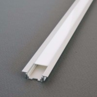 Profilé aluminium LED encastrable 2m