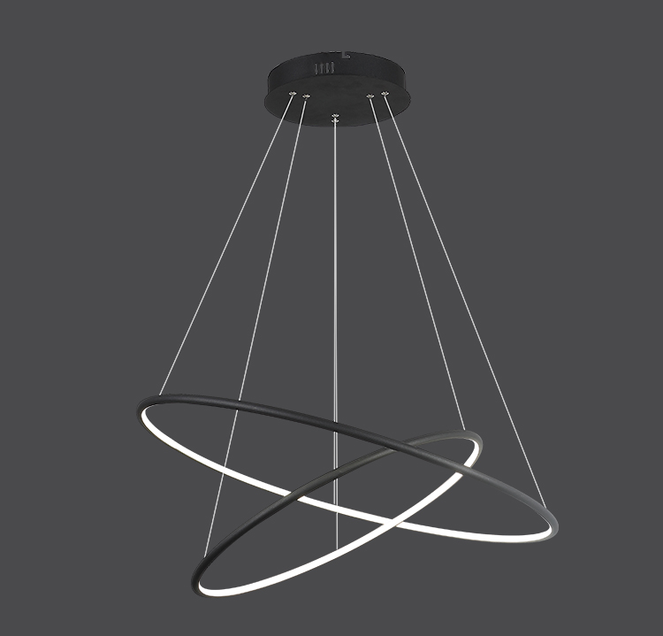 Plafonnier Suspension led design ronde 53 w dimmable