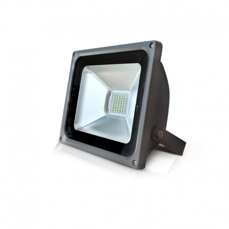 Projecteur ext rieur led cob plat 30w pour clairage ext rieur for Projecteur led exterieur 1000w