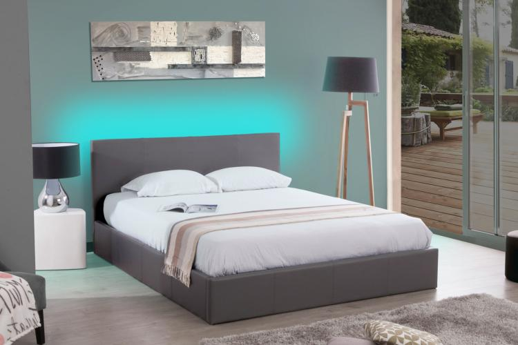 comment installer un ruban led sur une tete de lit. Black Bedroom Furniture Sets. Home Design Ideas