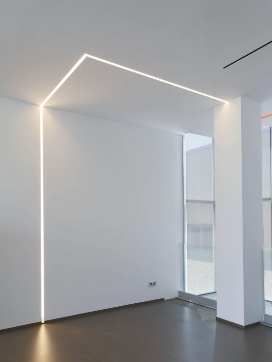 profile led mur