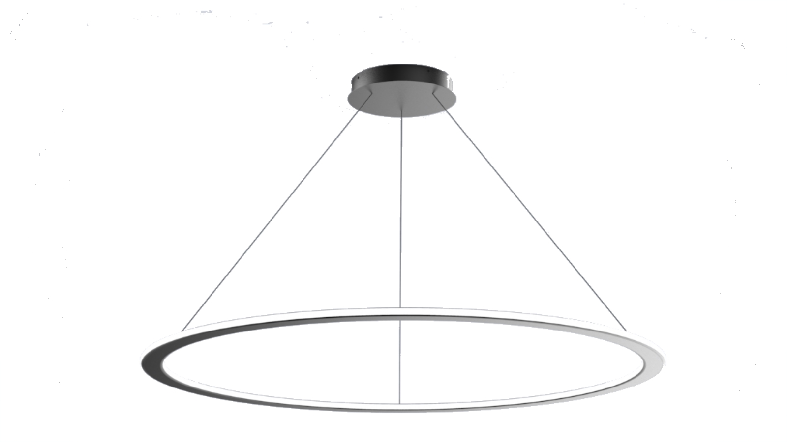 Plafonnier Suspension led design ronde 45 w dimmable