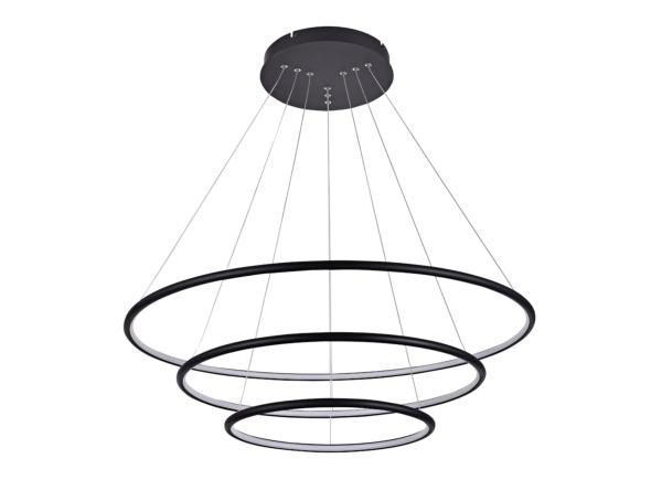 Suspension led design ronde 3 anneaux réglable 99 w dimmable