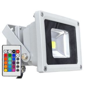 Projecteur ext rieur led 80w blanc ou rgb for Projecteur led exterieur 1000w