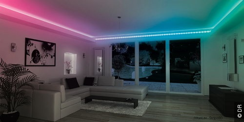 kit rubans leds rgb adh sif 12v 14 4w m 60 leds m non etanche. Black Bedroom Furniture Sets. Home Design Ideas